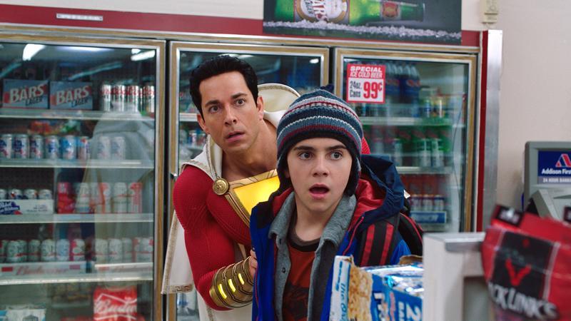 Zachary Levi ja Jack Dylan Grazer ovat hullunhauskoja. Itse elokuva sortuu ylensyöntiin.
