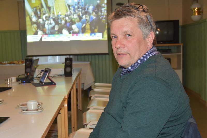 SDP:n kansanedustajaehdokas kannuslainen Ari Huuki sai 222 ennakkoääntä.