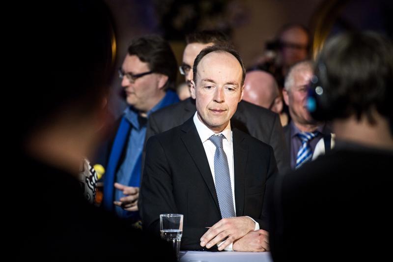 Kolmannen jytkyn arkkitehti. Jussi Halla-aho johti puolueensa maan toiseksi suurimmaksi.