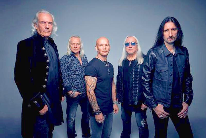 Uriah Heep keikkailee Nivalan Tuiskulassa ensi syksynä.
