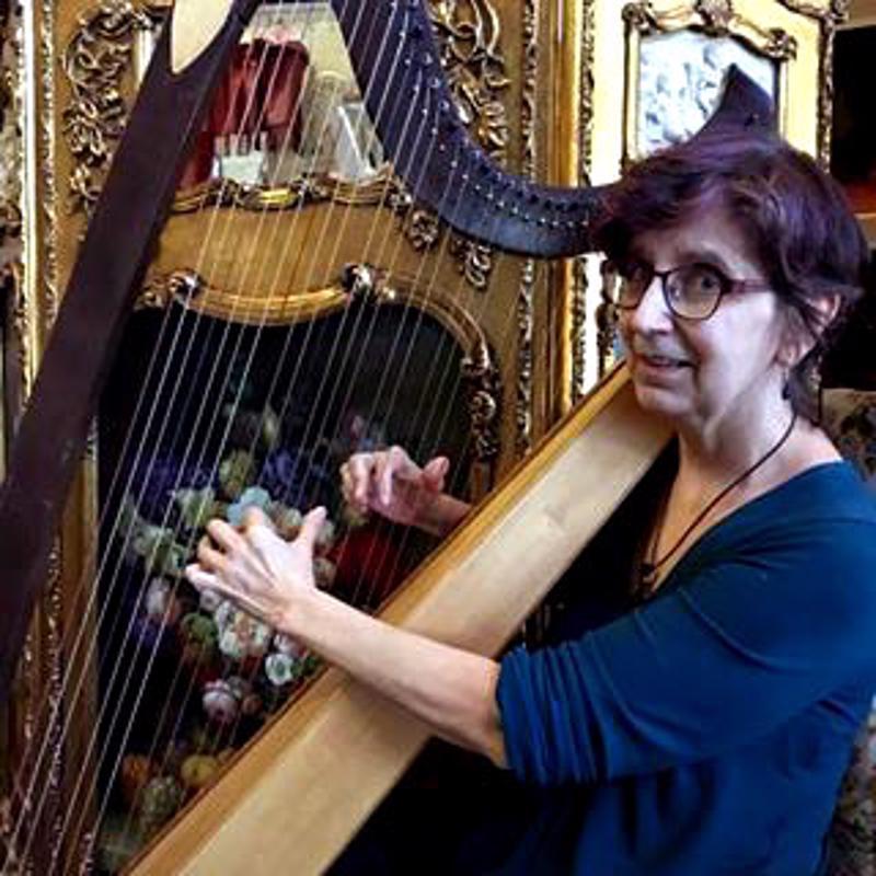 Harpoet-duon toinen jäsen on haapavetisille tuttu Jane Ilmola.