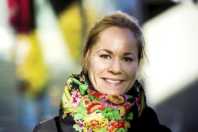 Vasemmistoliiton Hanna Sarkkinen ilmoitti asettuvansa eurovaaliehdokkaaksi.