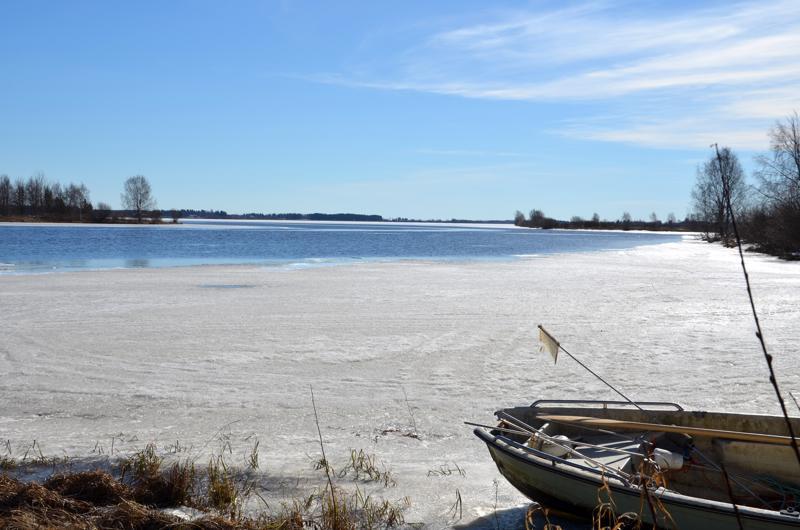 Jäät ovat pääosin sulaneet paikoilleen Kalajoessa. Vesistöennusteen mukaan tulvahuippu on vasta pääsiäisen jälkeen.