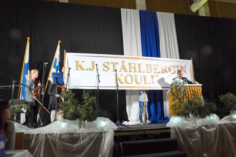 Haapajärven keskustan K.J. Ståhlberginkoulun rinnakkaisluokkia vähennetään, jos kaupungin tasapainottamisohjelma hyväksytään