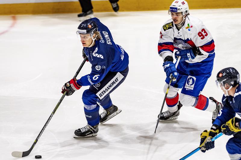 IFK Lepplaxin kasvatti Tony Sund on noussut vauhdilla maajoukkuetasolle.