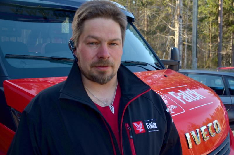 Toimitusjohtaja Petri Keskinen kertoo, että yritysoston jälkeenkin pääasiallisena liiketoimintana säilyy hinauspalvelu.