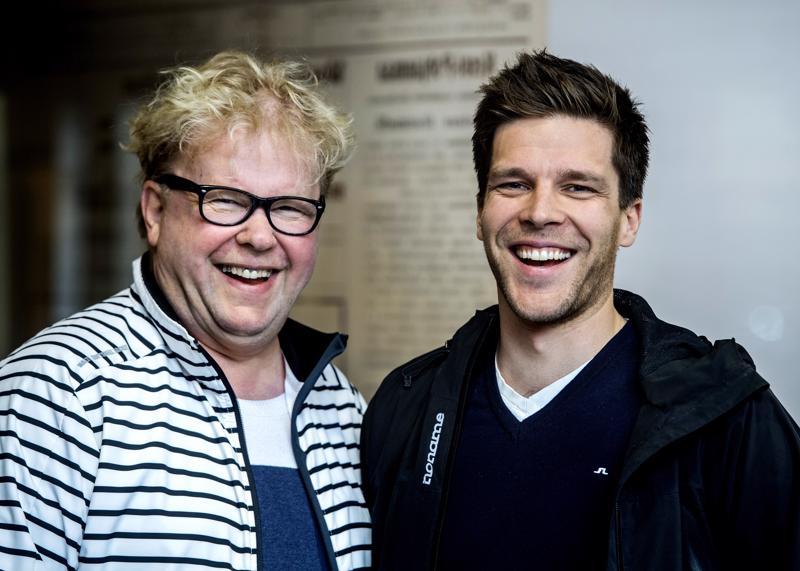 Kalle Lassila (oik.) ja Reijo Alakoski odottavat Menestyksen eväät -seminaarin kiinnostavan niin urheilu- kuin yritysväkeä.