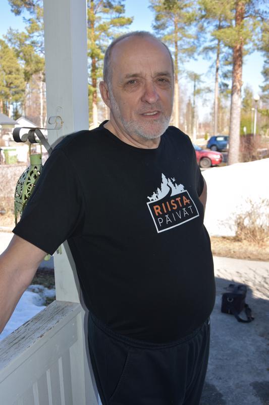 Onnea! Kannuslainen, tammikuussa 69 vuotta täyttänyt Markku Tapio Mäki-Petäjä on tämän päivän nimipäiväsankari.