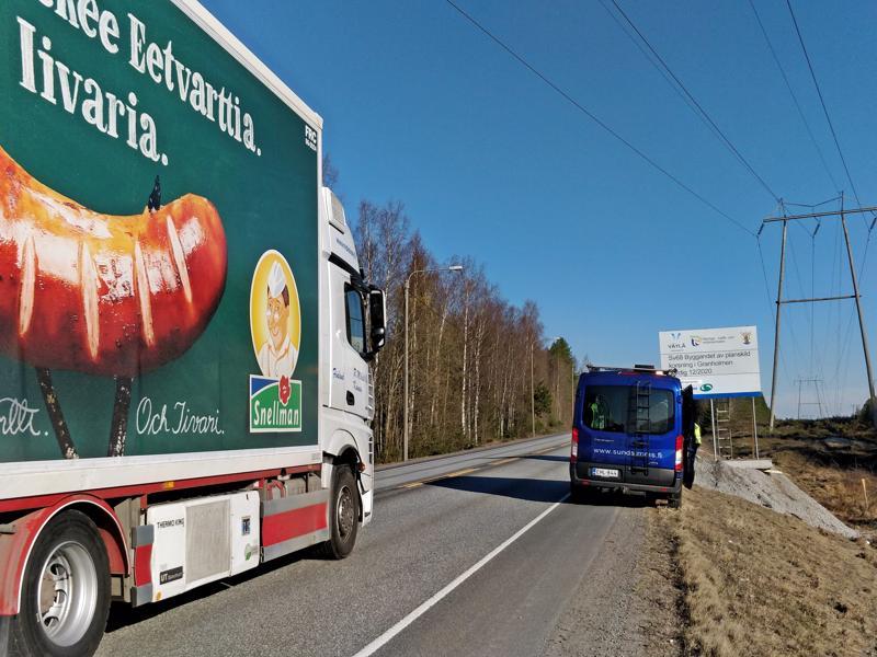 Snellmanin risteystä on pidetty Pietarsaaren sisääntulotien yhtenä pullonkaulana.