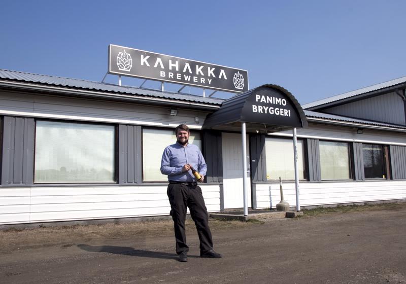 Nicke Kavilon johtama Kahakka Brewery valmistautuu kiireiseen kesään.