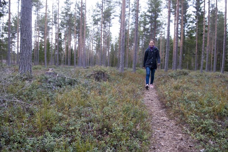 –Tutut maisemat, toteaa Heini Wennman astellessaan Santahaan metsään. Näissä maisemissa hän on suunnistanut monen monituista kertaa, mutta edellisestä kerrasta on ehtinyt vierähtää aikaa. Tutkijana työskentelevä Wennman suunnistaa edelleen aktiivisesti. Mitali on tähtäimessä loppukuusta järjestettävissä keskimatkan SM-kisoissa.