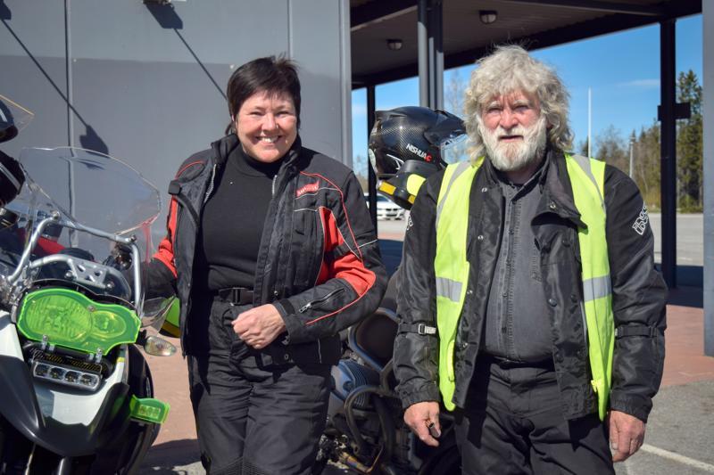 Gunvor ja Glenn K-J Sundqvist ovat motoristien löyhän yhteenliittymän MP Klubi 99:n perustajia.