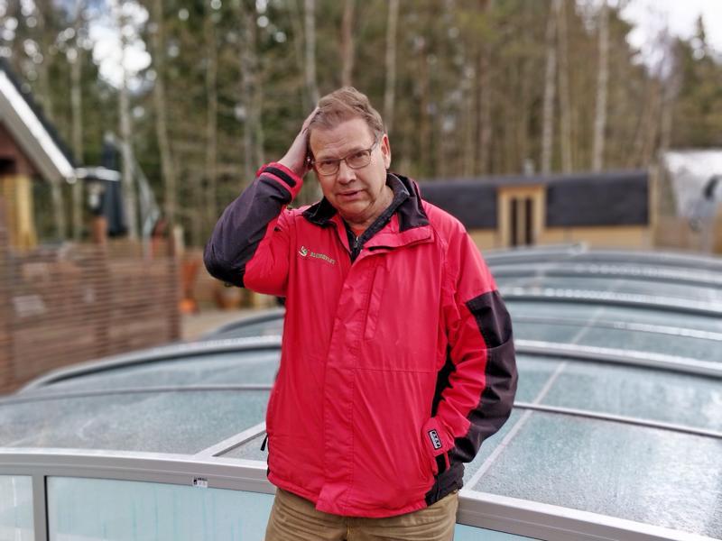 – En mieti enkä murehdi yrityksenkään asioita liikaa. Asioilla on tapana järjestyä, tuumii 62-vuotias Leif Blomqvist.