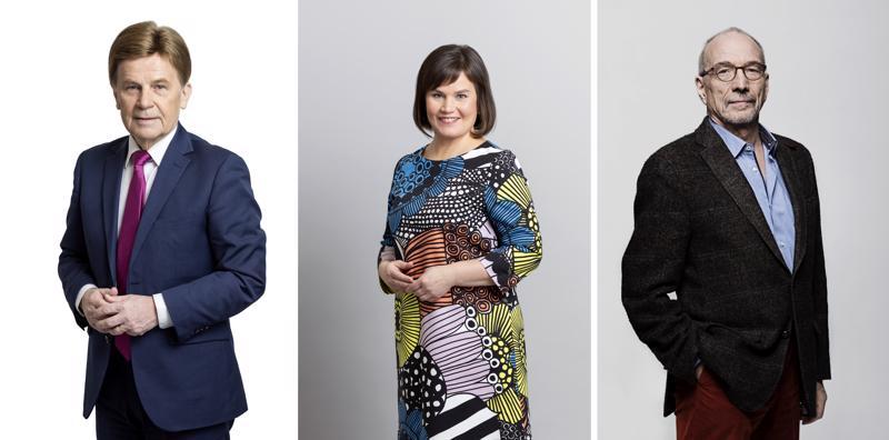 Mauri Pekkarinen (kesk.) oli Kokkolan ääniharava, Mirja Vehkaperä (kesk.) Ylivieskan ja Nils Torvalds (r.) Pietarsaaren eniten ääniä saanut eurovaaliehdokas. Heistä Pekkarinen ja Torvalds menivät läpi parlamenttiin.