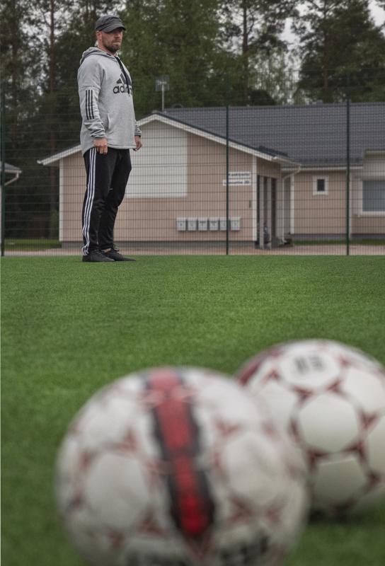 Mittavan jalkapallouran tehnyt Niko Aihio haluaa hyödyntää omaa ammattitaitoon seurassa mahdollisimman monipuolisesti.