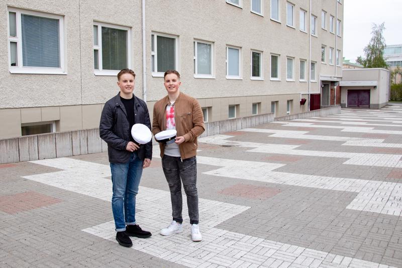 Molemmat Kuoppalan veljeksistä ovat hakeneet jatko-opintoinaan Jyväskylän liikuntatieteelliseen tiedekuntaan.
