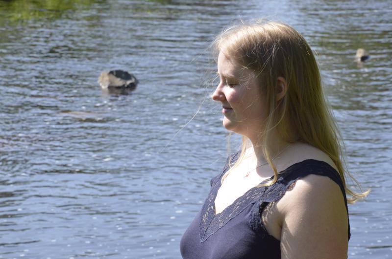 Minttu Penttilälle Himanka ja sen kaunis jokisuu ovat rakkaita paikkoja.