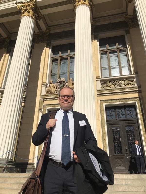 Hallitusneuvottelut ovat pitäneet Mikko Kinnusen kiireisenä ihan näihin päiviin saakka.