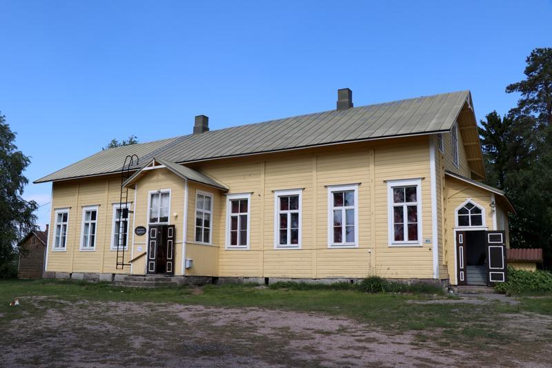 Nikulan kylätalona toimii entinen kansakoulu, joka suljettiin vuonna 1969 eli tasan 50 vuotta sitten.
