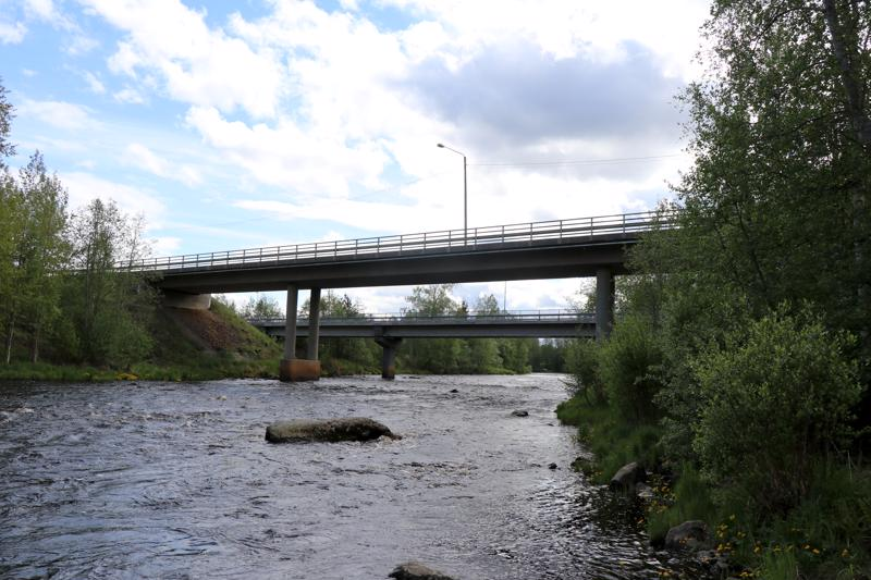 Pappilankosken silta.