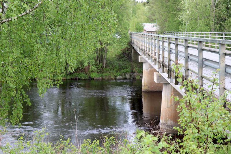 Hongan silta Salonkylässä.