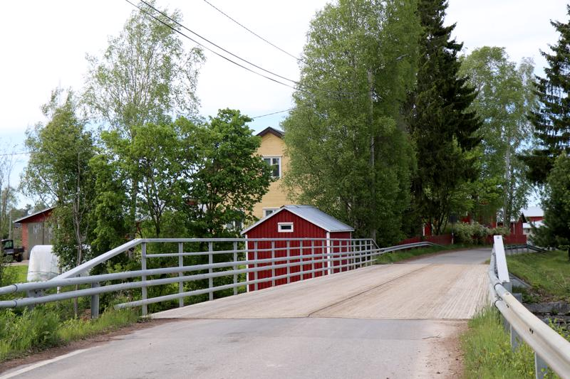 Nikulan silta Kaustisella.