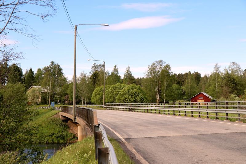 Puumalan silta Kaustisella.