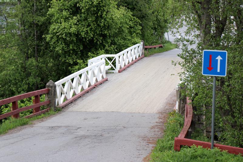 Penttilän silta Kaustisella.