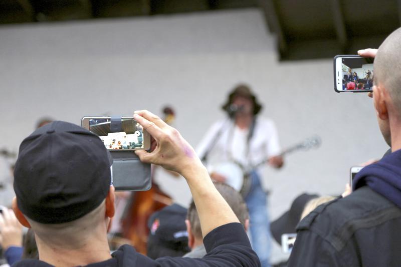 Raivaajarock järjestettiin Vetelissä ensimmäisen kerran viime vuonna, jolloin konserttia tähditti Steve'n' Seagulls.