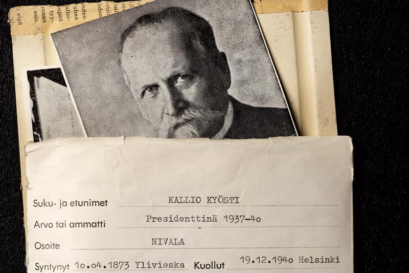 Nivalalainen Kyösti Kallio on ollut yhteensä kymmenen hallituksen ministerinä.
