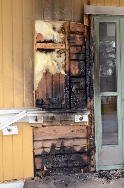 Suuri tulipalo oli lähellä syttyä Jungsborgilla.