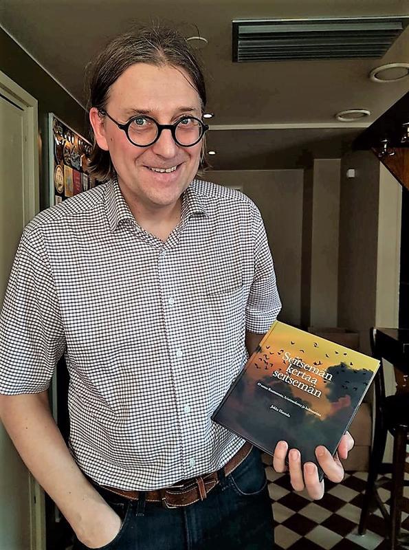 Jukka Hautalan tuore kirja julkistettiin Helsingissä alkukuusta.