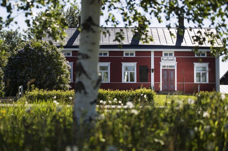 Lucina Hagmanin syntymäkoti toimii nykyään Kälviän Marttakotina.