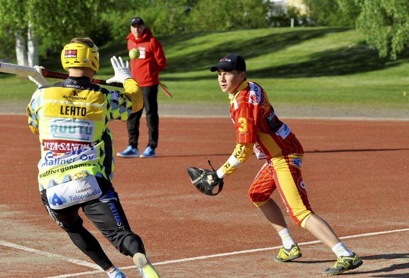 Kuulan nuori lukkari Aatu Saastamoinen oli jälleen joukkueensa parhaimmistoa.