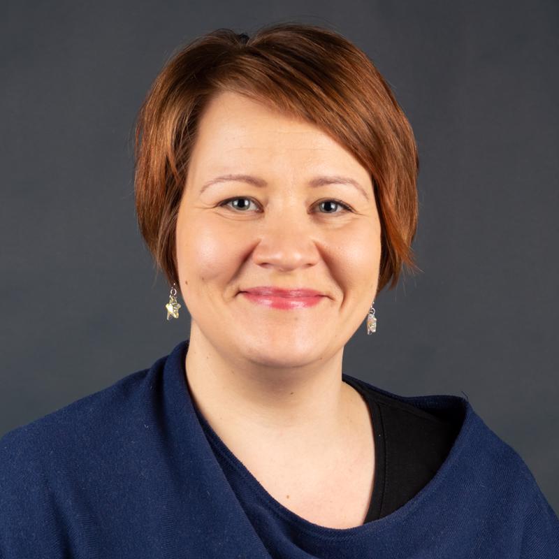 Marjaana Tuomikoski.