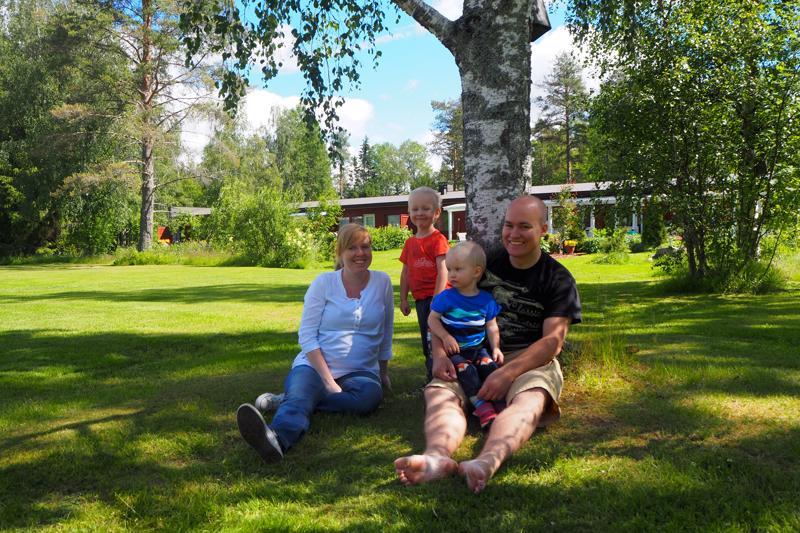 Gröhnin perhe ehti juuri osallistua Kesämusaralliin palattuaan Afrikasta.