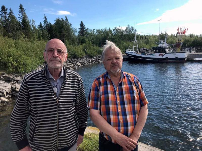 Asko Karrola ja Ahti Ekdahl haluavat muuttaa Trullevintien yksityisestä yleiseksi.