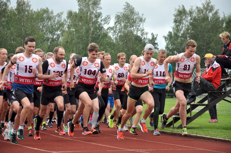 Jooseppi Kalliokoski (81.) johti kilpailua maaliin saakka.