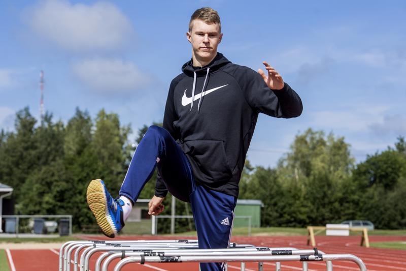 Konsta Alatupa juoksee tällä viikolla yleisurheilun nuorten EM-kisoissa.