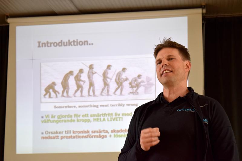Markus Greys esitteli Optimum -metodiaan maanantaina.