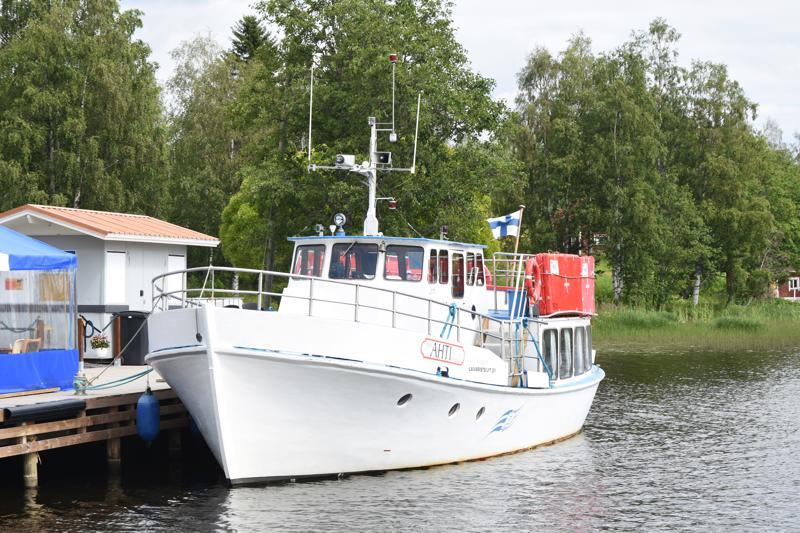 Tänä iltana Ahti toimii myös satamaravintolana.