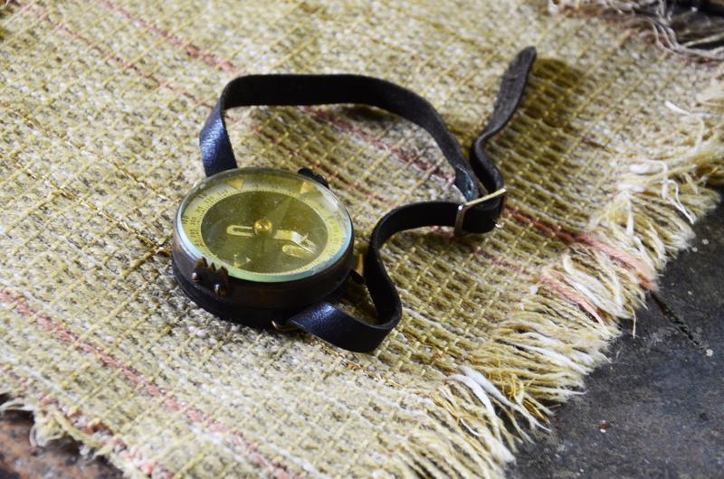 Kompassi oli mukana aina, vaikka Lappi tuli tutuksi vuosikymmenien aikana.