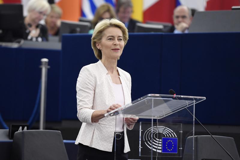 Ursula von der Leyenin pitää seuraavaksi koota komissionsa, jonka hyväksymisestä parlamentti äänestää syksyllä.