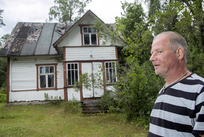 Robert Kristjankroon on itsekin asunut talossa, joka rakennettiin vuonna 1908 hänen isoisänsä isän Jyri Kristjankroonin perheelle.