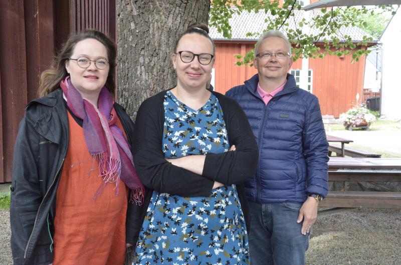 Marita Kaakinen, Aino Häli ja Juhani Lamminmäki ovat valmistelleet Lohtajan kirkkomusiikkjuhlille ohjelmaa, jollaista ei kuule missään muussa tapahtumassa.
