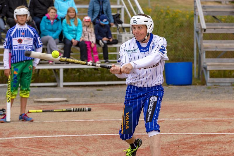 Juha Mäntylä lyö vuodesta toiseen yhtä tarkasti itsensä kentälle.