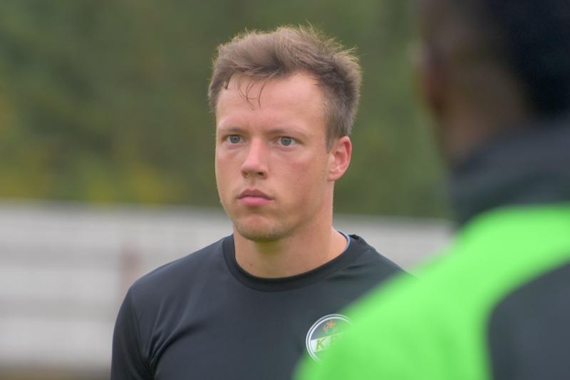 Timo Rauhala pelaa jo viidettä kesää KPV:n joukkueessa.
