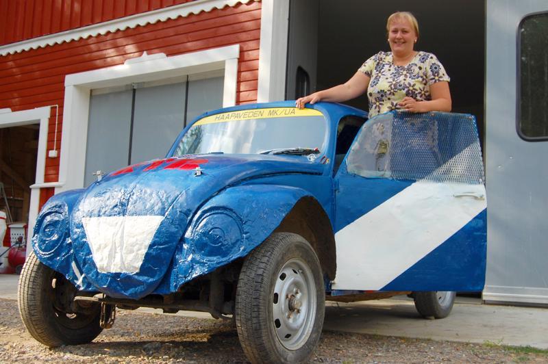 Anne-Kaisa Kallio oli malttanut pysyä jokkisautojen ratin takana jo 20 vuotta.