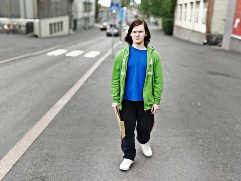 Miika Linna on yksi Nuotti-valmennukseen osallistuneesta yhdeksästä nuoresta seudulla tähän asti.