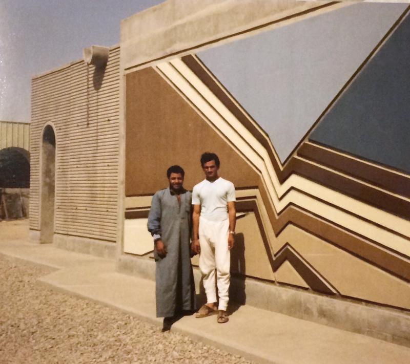 Irakissa Saarenpää oli rakentamassa väestönsuojaa keskelle Bagdadia. - Sen seinät olivat 1,70 metriä paksut, mutta silti niistä meni ohjus läpi, hän muistelee.